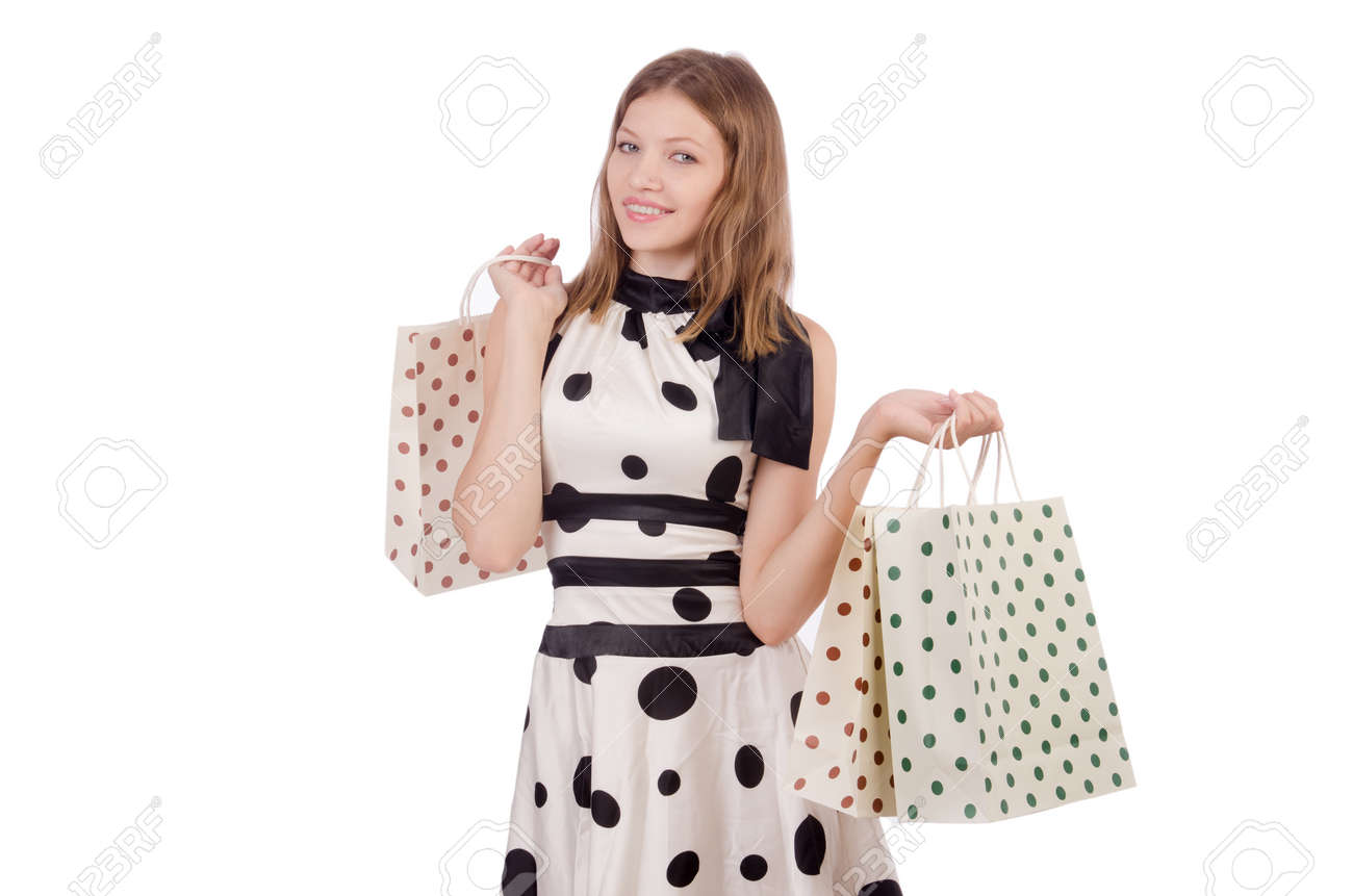 Woman in shopping concept Stock Photo - 29995863
