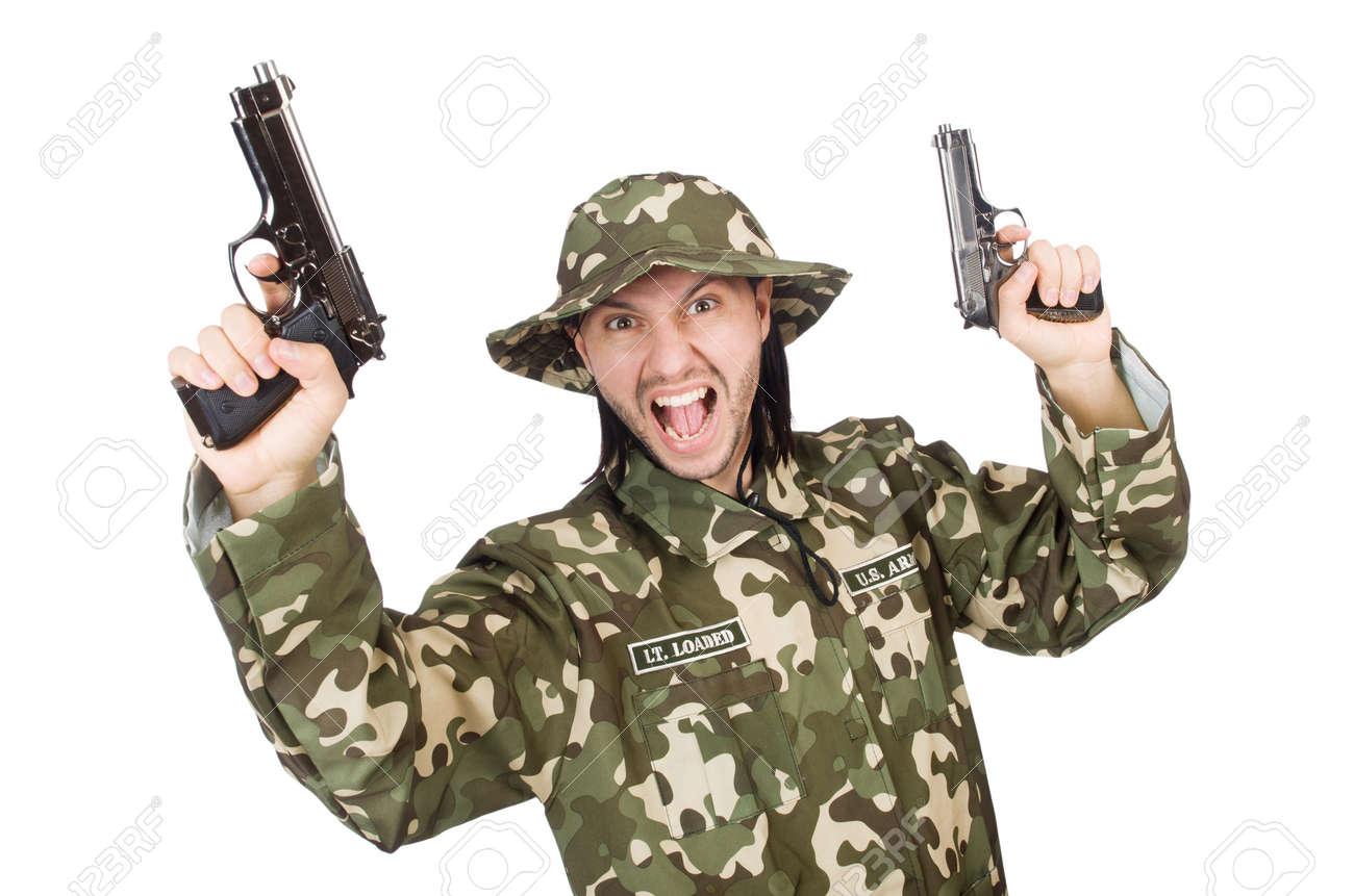 Drole Soldat Concept Militaire Banque D Images Et Photos Libres De Droits Image 36116396