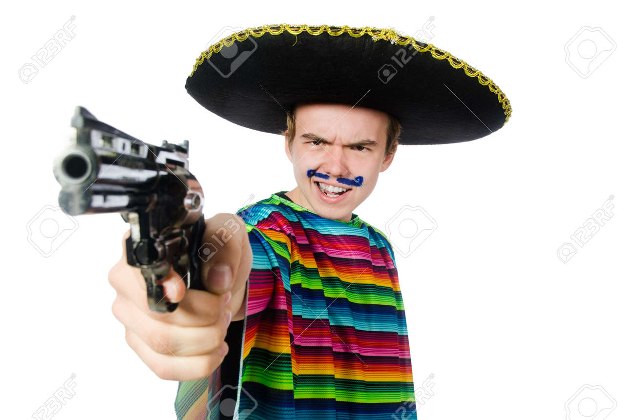 [Image: 42488571-funny-young-mexican-with-gun-is...-white.jpg]