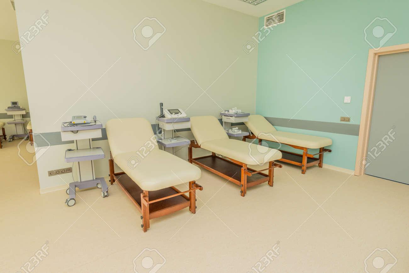 Chambre Dans L\'hôpital Moderne Banque D\'Images Et Photos Libres De ...
