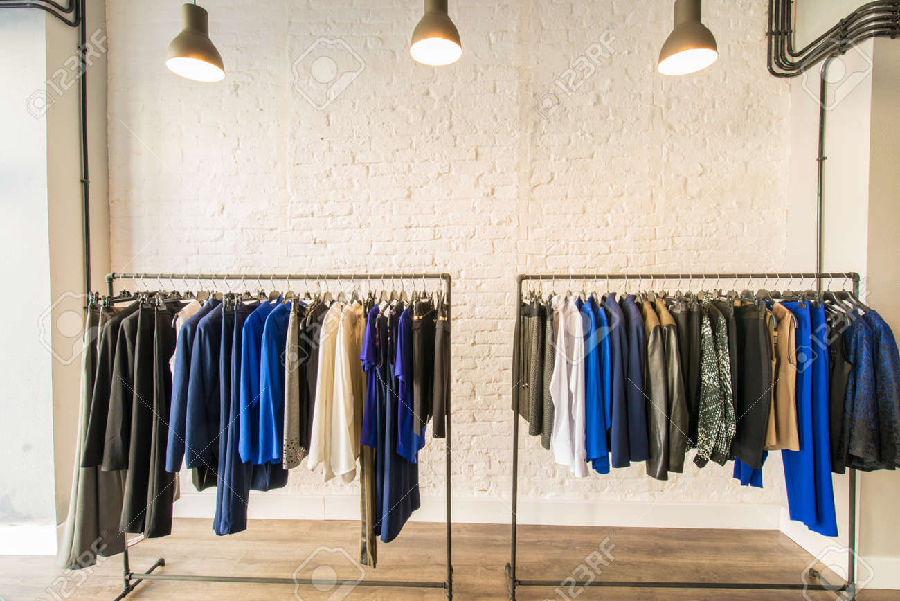 Interior of fashion clothing shop Stock Photo - 46909262