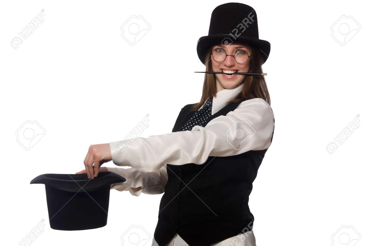 Woman magician Nude Photos 41