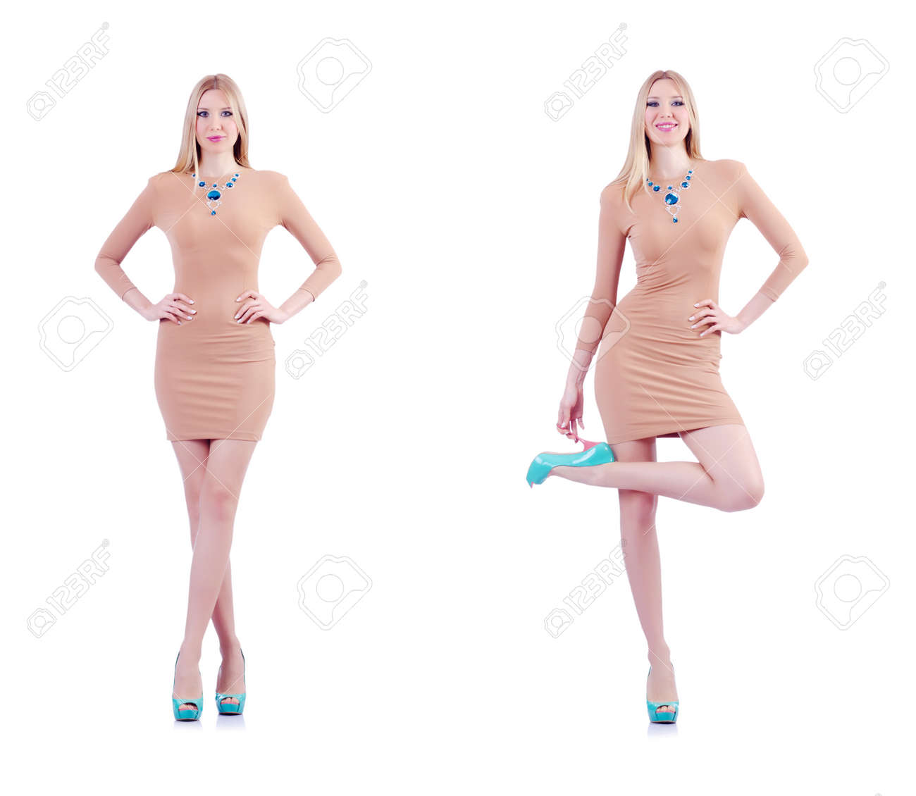 tall attractive woman