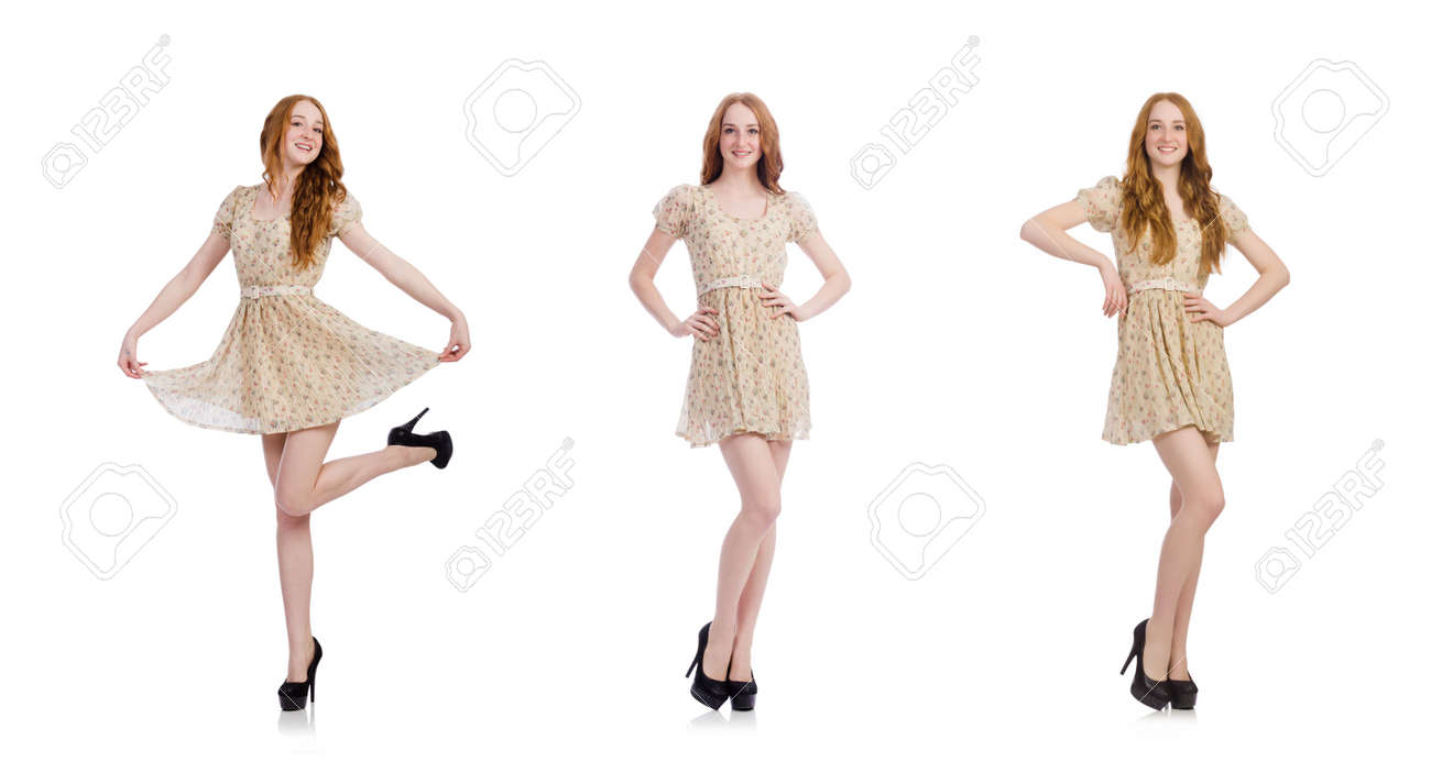 Woman in fashion clothing concept - 159257337