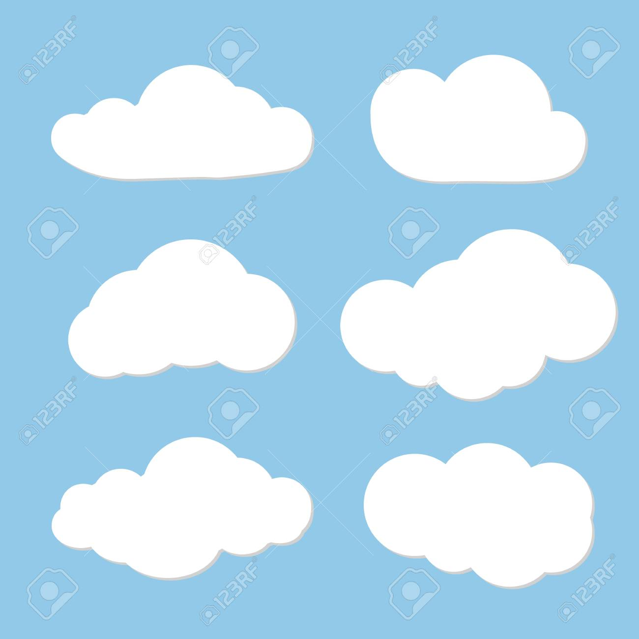 cloud vector design can use as speech clouds for network cloud rh 123rf com cloud vector icon cloud vector editor