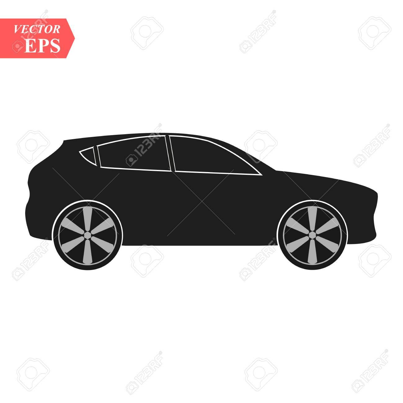 Luxury Car Icon Super Car Design Concept Unique Modern Realistic