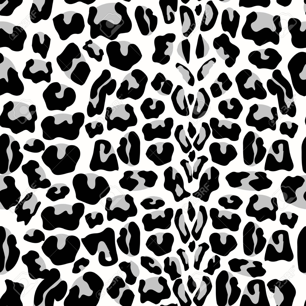 Leopard Seamless Pattern Animal Print Pattern With Leopard Royalty Free Cliparts Vectors And Stock Illustration Image 110753740
