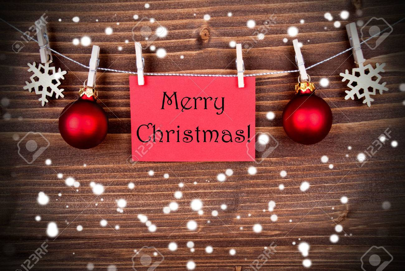 Frohe Weihnachtsgrüße.Stock Photo