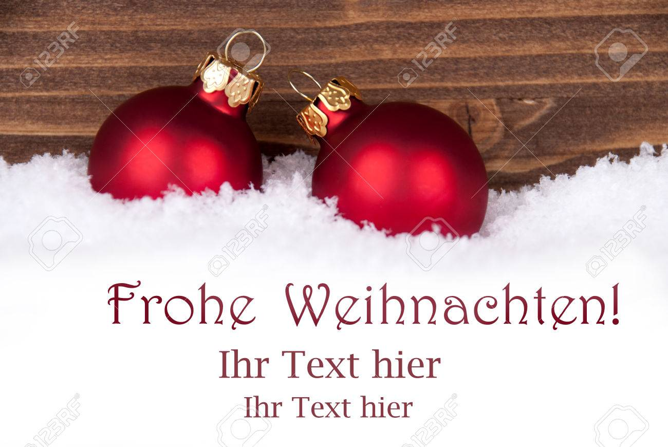 Frohe weihnachten german christmas greetings which means merry frohe weihnachten german christmas greetings which means merry christmas in the snow with red kristyandbryce Image collections