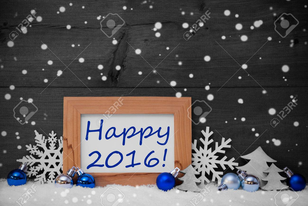 Decorazioni Albero Di Natale Blu : Blu grigio decorazione di natale sulla neve albero di natale