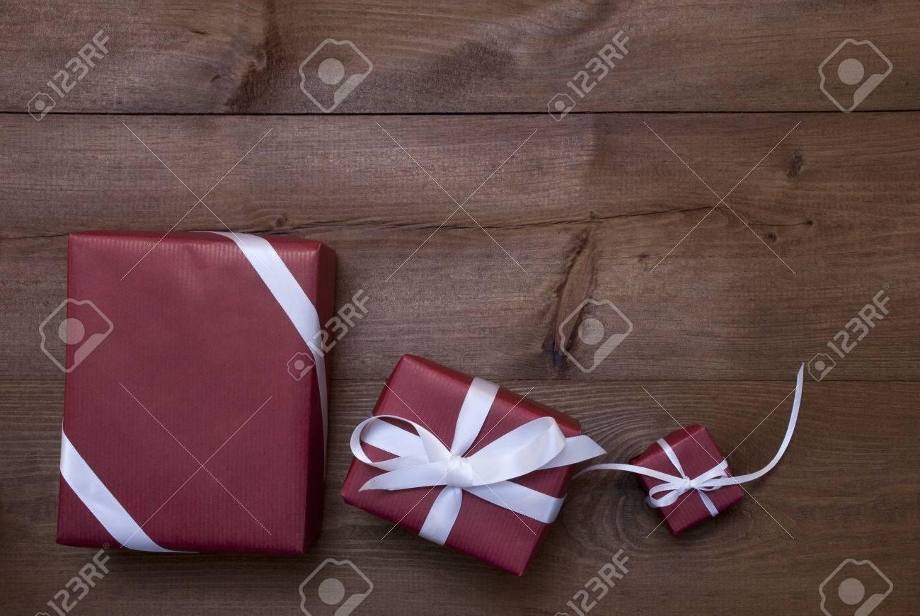 Weihnachtsgeschenke Geschenke.Stock Photo