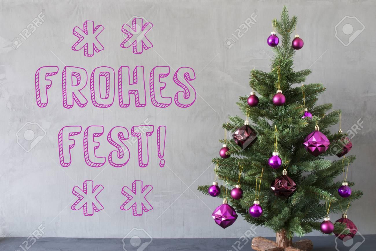 Deutscher Weihnachtsbaum.Stock Photo