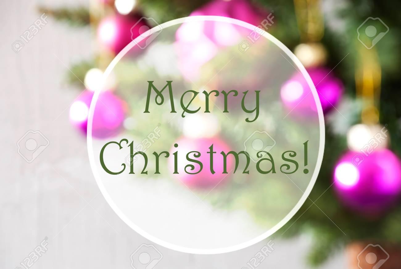 Christmas tree with rose quartz balls close up or macro view christmas tree with rose quartz balls close up or macro view christmas card for kristyandbryce Choice Image