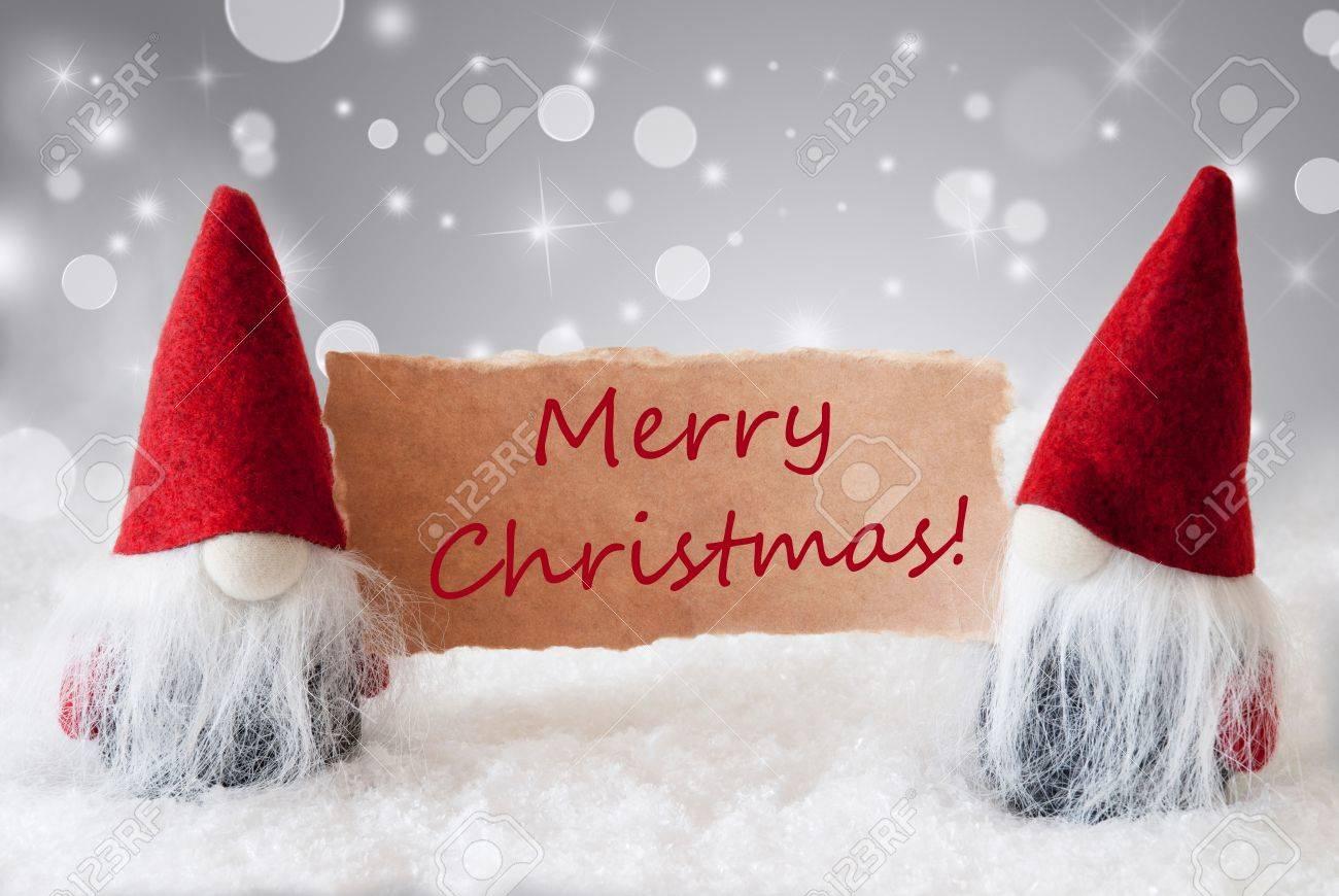 Weihnachtsgrüße Englisch.Stock Photo