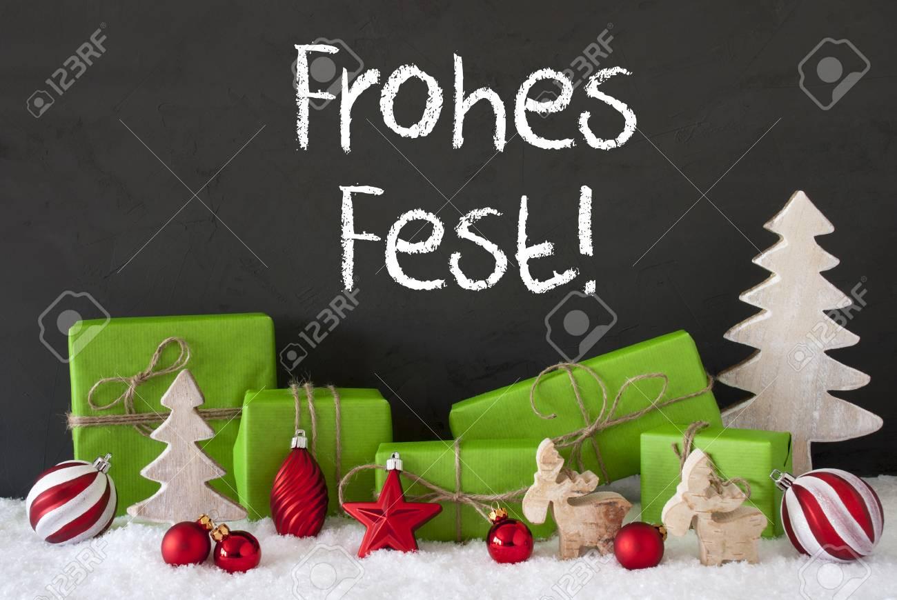Weihnachtsdeko Geschenke.Stock Photo