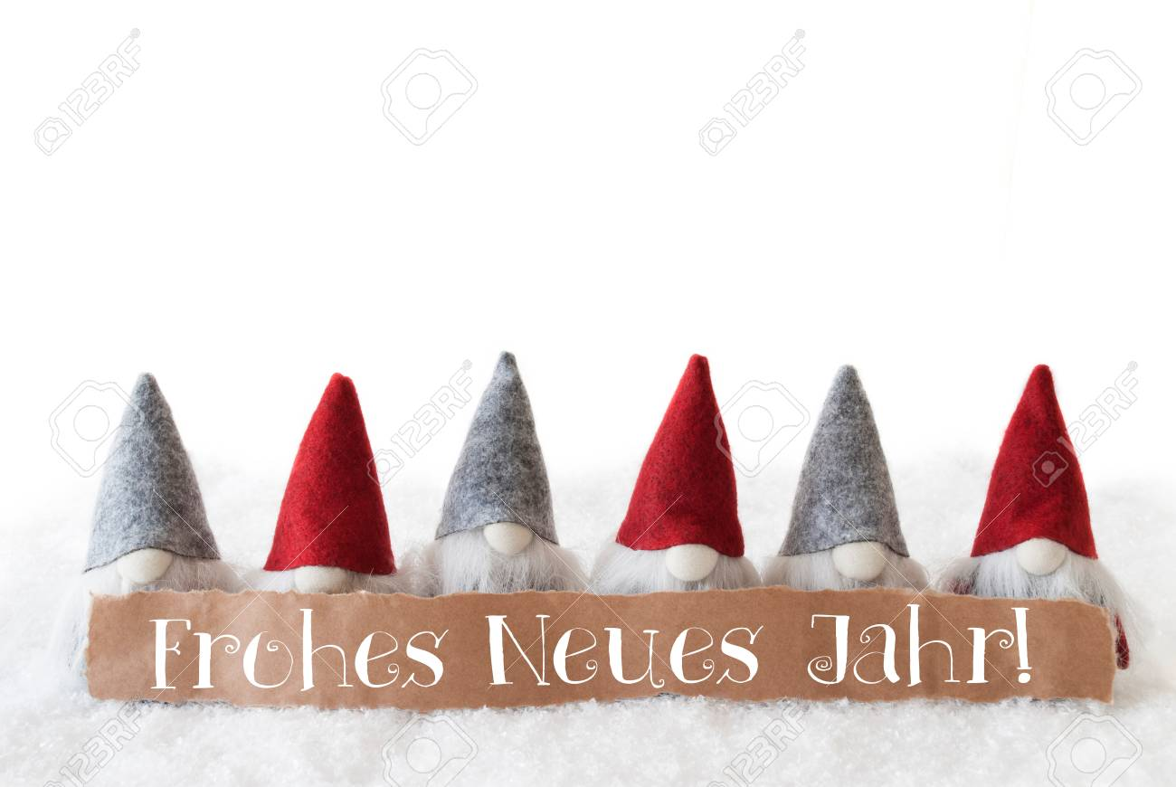 Label with german text frohes neues jahr means happy new year label with german text frohes neues jahr means happy new year christmas greeting card with m4hsunfo