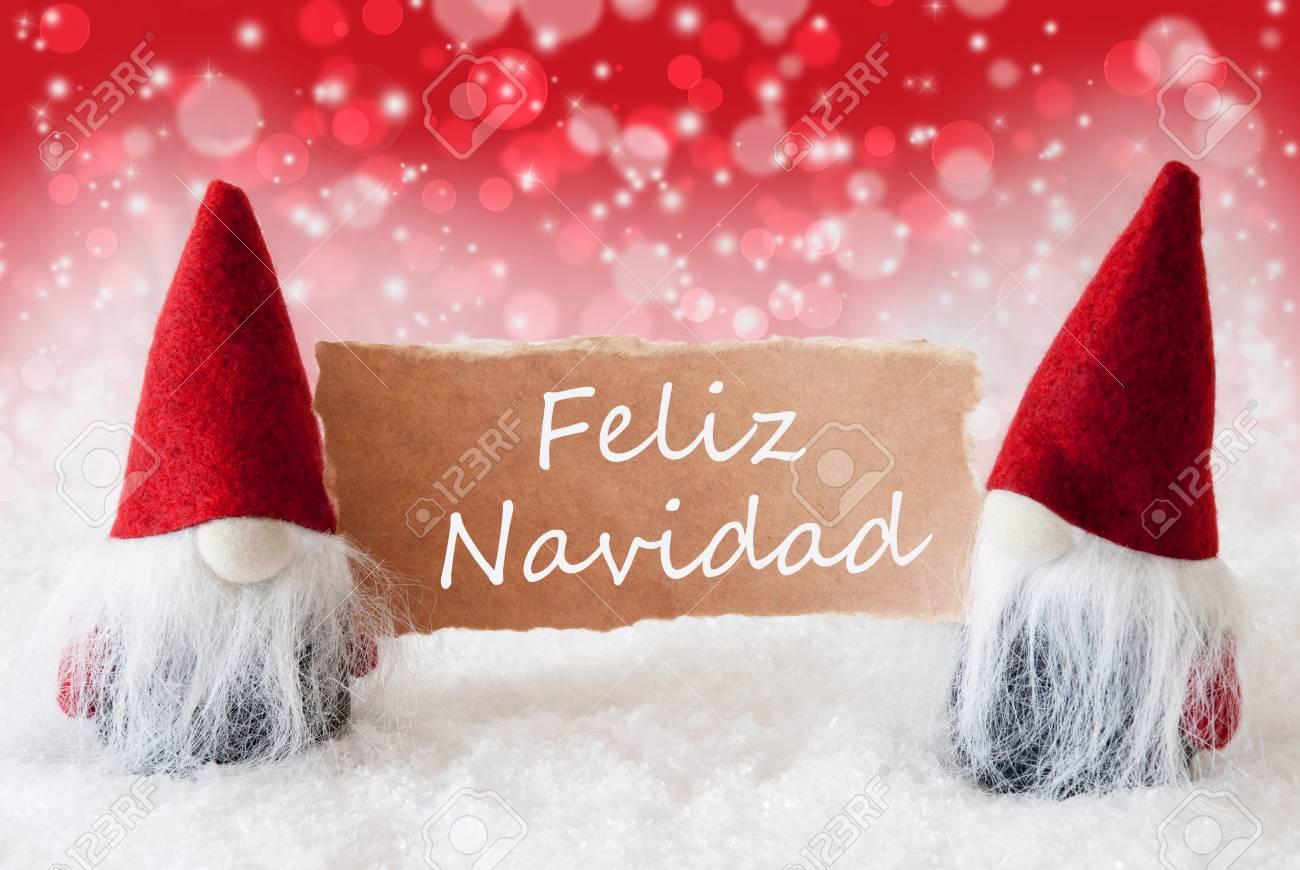 Weihnachtsgrüße Auf Spanisch.Stock Photo