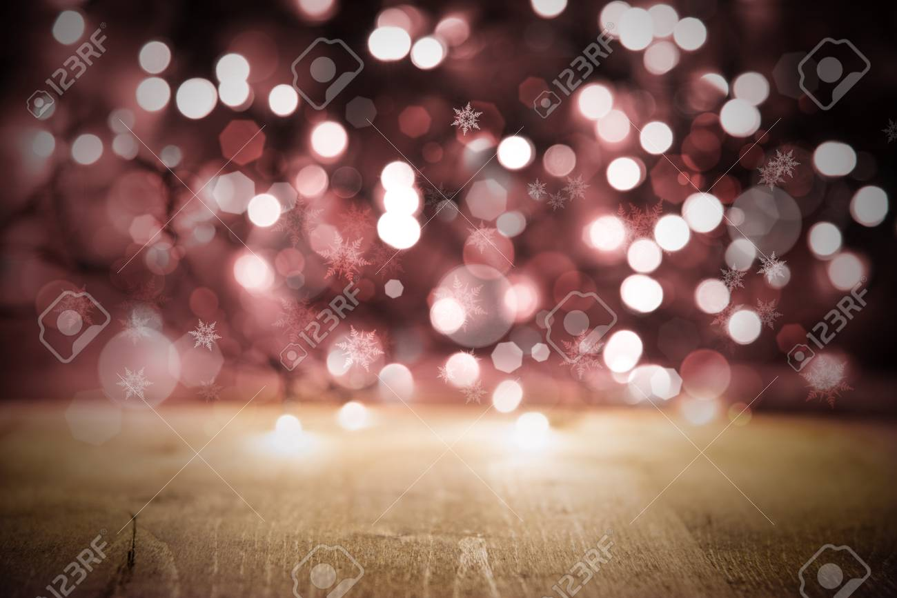 Pink Christmas Lights.Pink Christmas Lights Background Party Or Celebration Texture