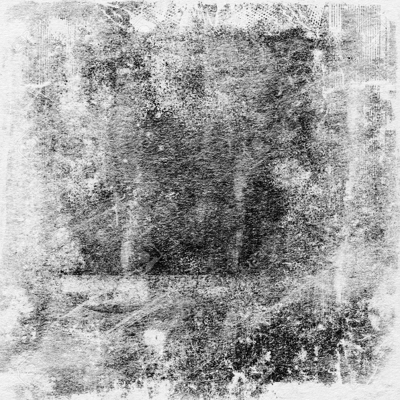 grunge paper texture, border and background - 34788703