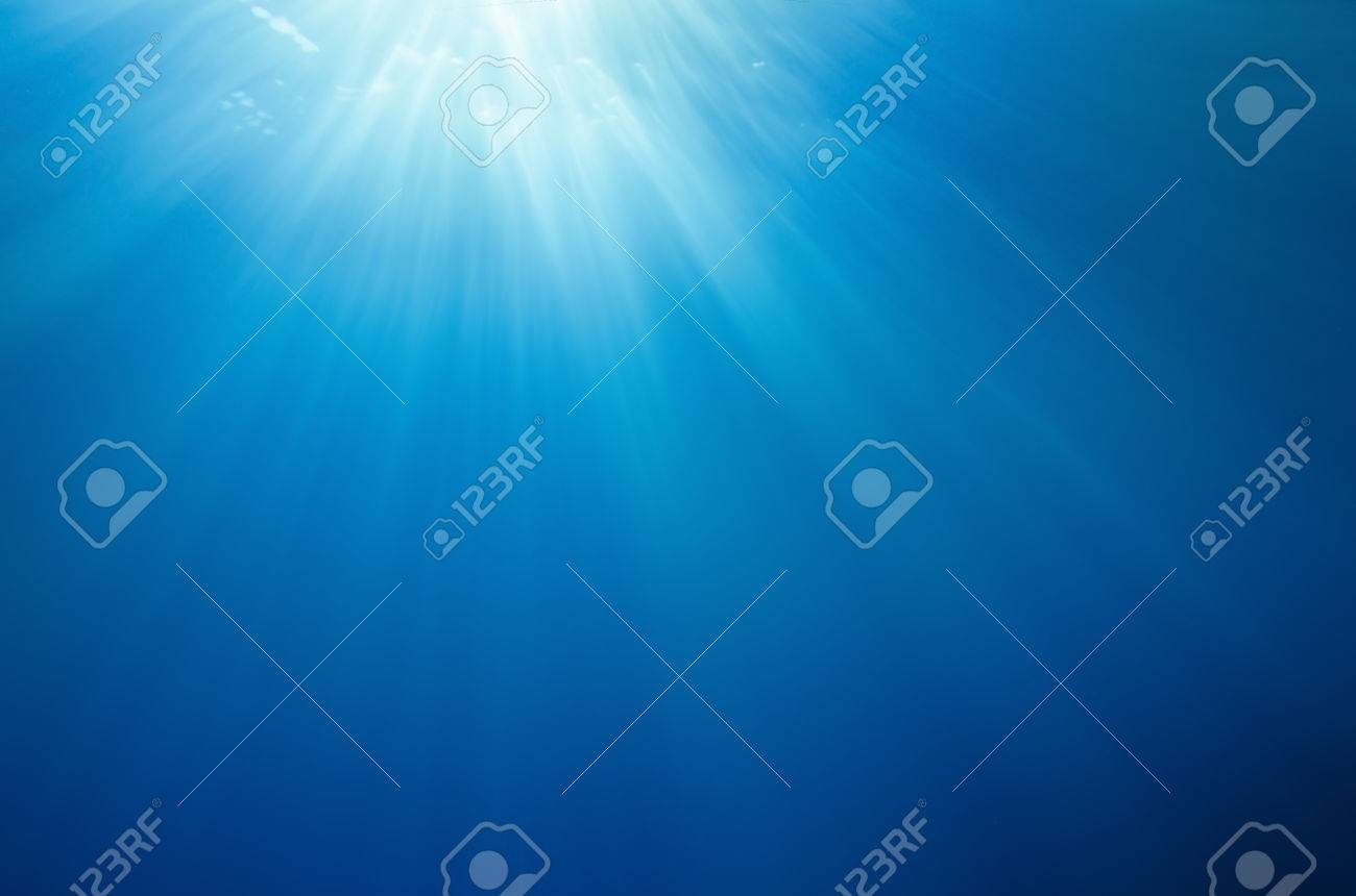 Abstract underwater deep blue backgrounds - 34784585
