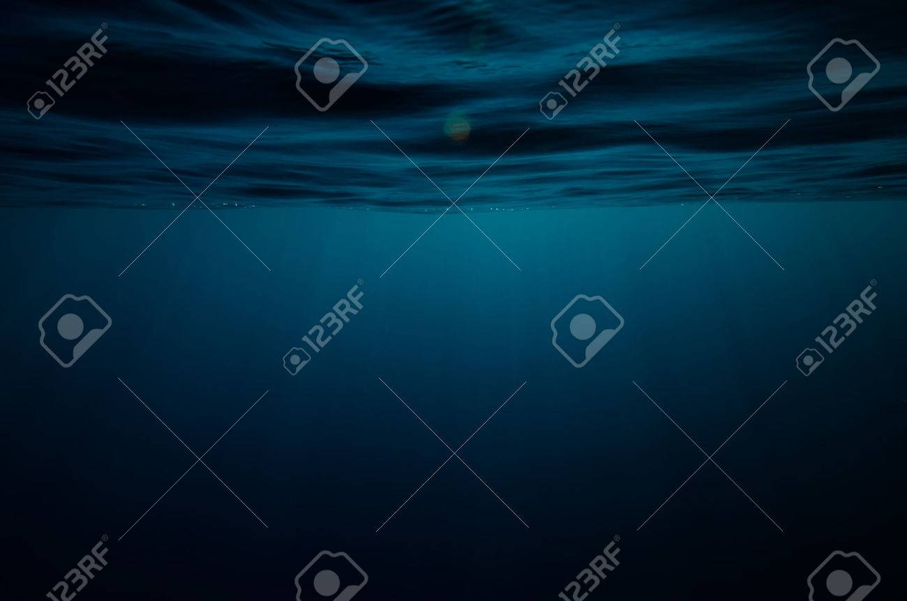 Abstract underwater deep blue backgrounds - 34784589