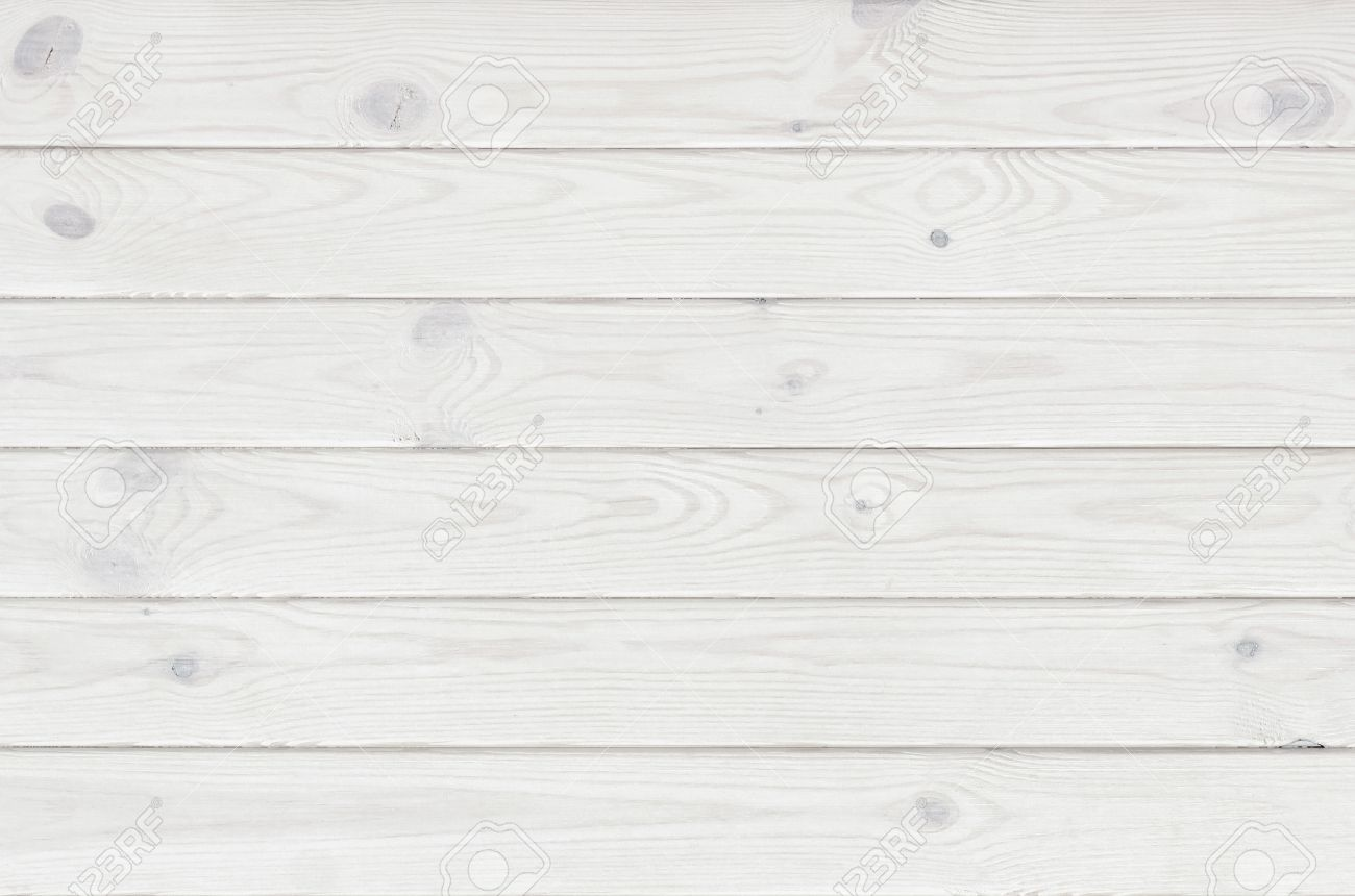 White Wooden Plank Texture Light Rustic Background Stock Photo