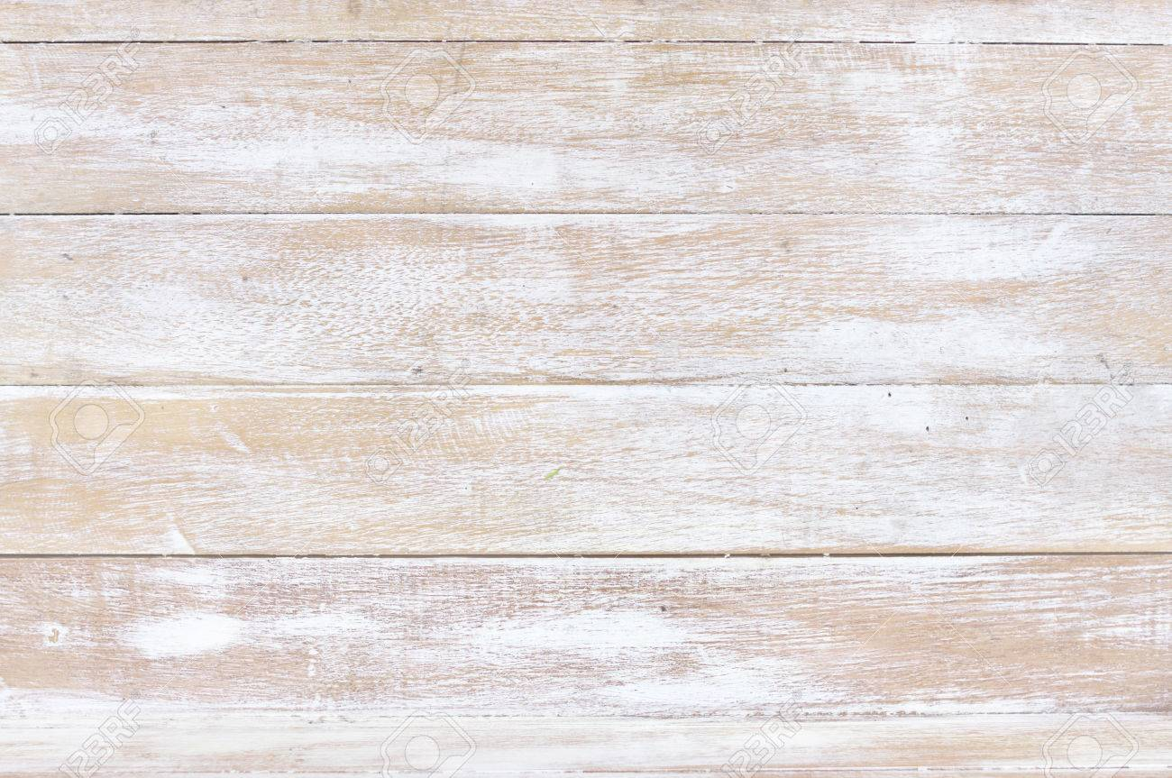 Charmant Stock Photo   White Wood Texture Background, Wooden Table Top View