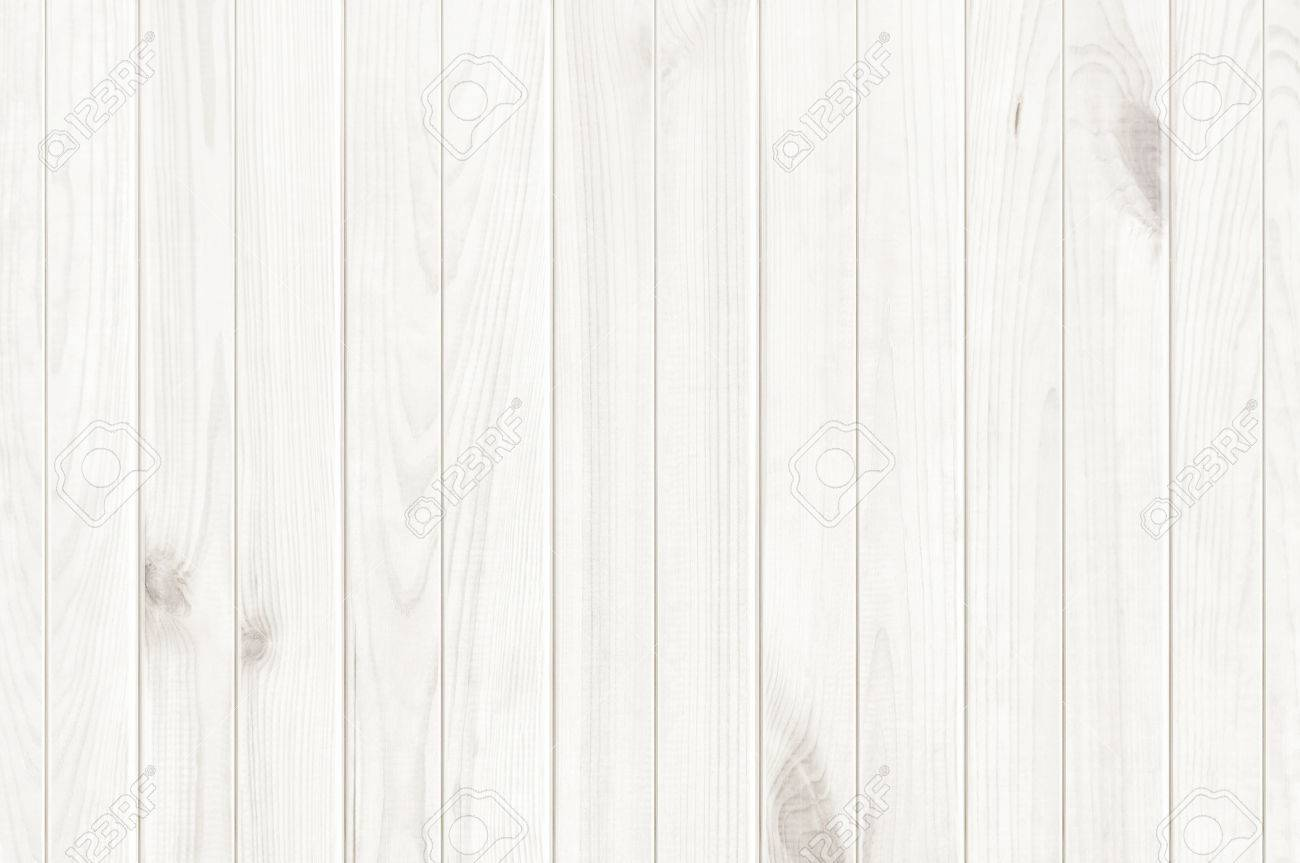 White Wood Texture Background Wooden Table Top View Stock Photo