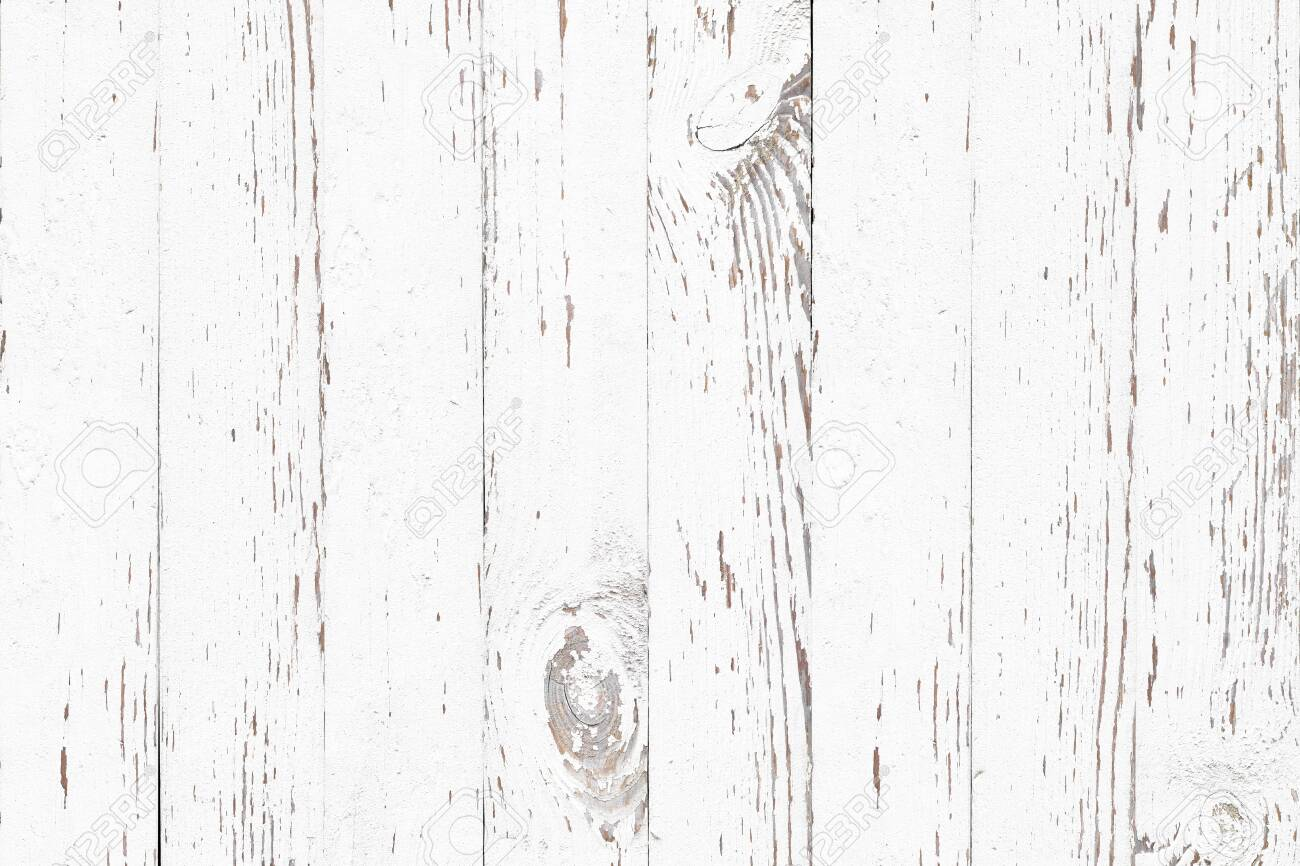 white wood texture background, natural pattern - 129220914