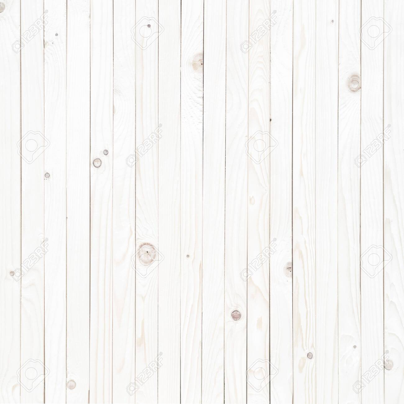 white wood texture background, wooden table top view - 129220774