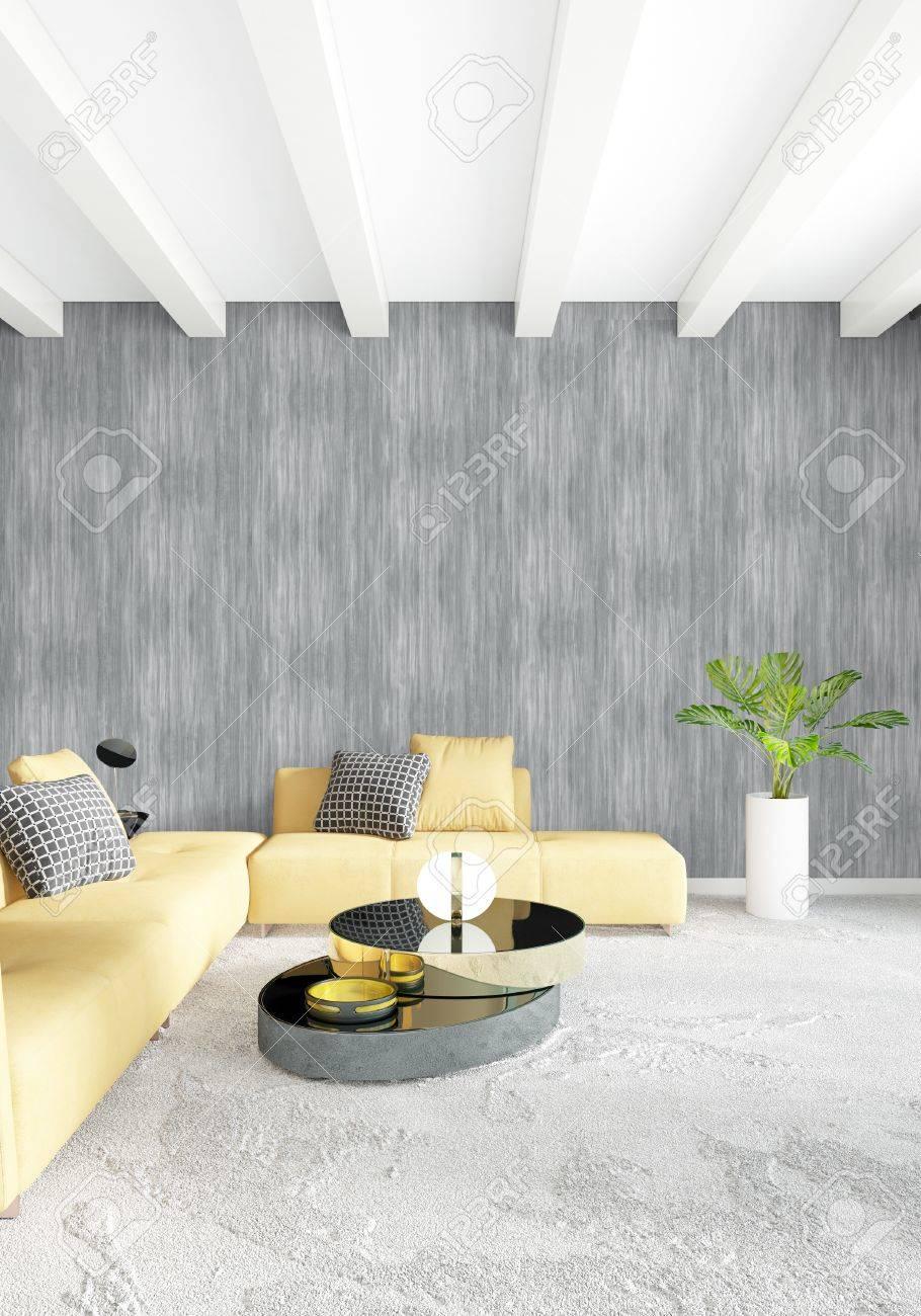 Delightful Standard Bild   Weißes Schlafzimmer Minimal Modern Oder Loft Stil Interior  Design. 3D Rendering 3D Abbildung