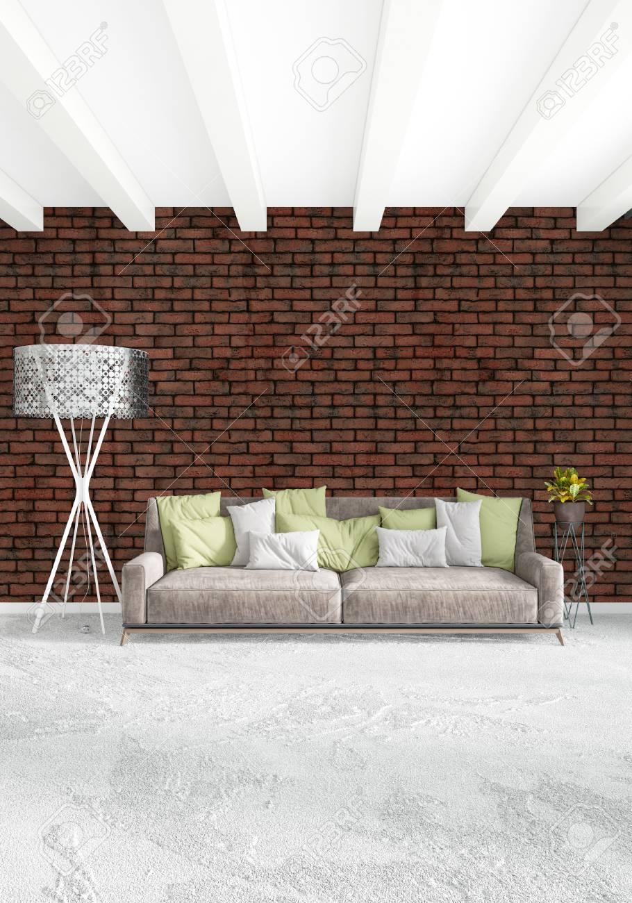 Bett mit minimalistisch grauem design bilder  Weißes Schlafzimmer, Minimalistischer Stil Innenarchitektur Mit ...