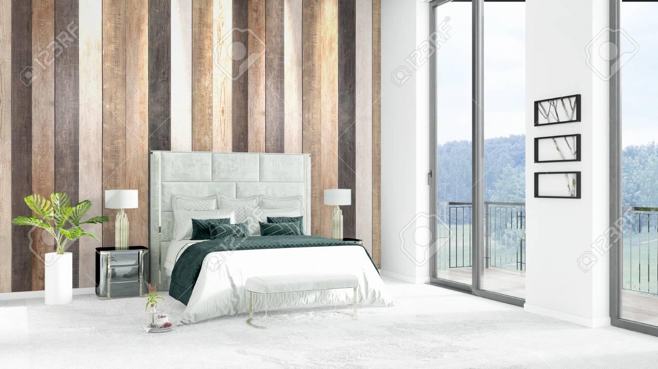 Camera Da Letto Con Soppalco : Camera da letto brandnew bianca del soppalco o salone minimal