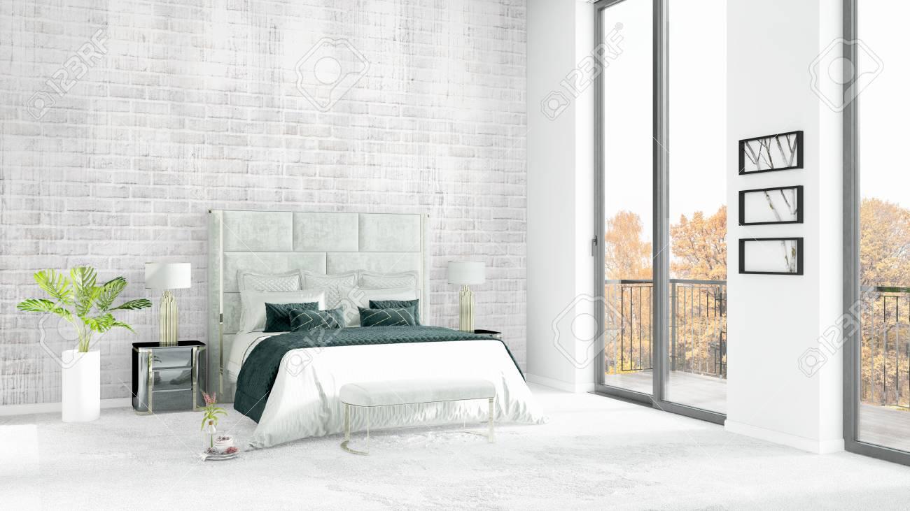 Camera Da Letto Bianca : Camere da letto matrimoniali moderne più efficiente stanza da