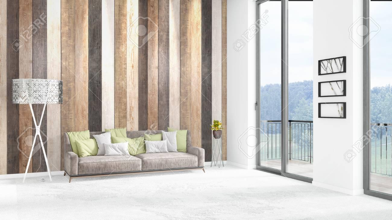 Camera Da Letto Bianca : Nuovo camera da letto bianca loft o soggiorno interno di interior