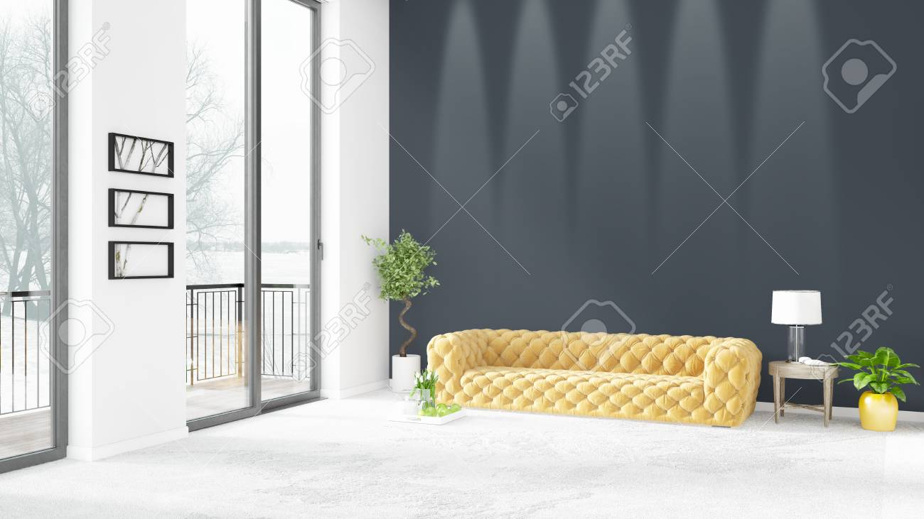 Camere Da Letto Stile Minimalista : Immagini stock stile bianco nuovo di lusso camera da letto stile