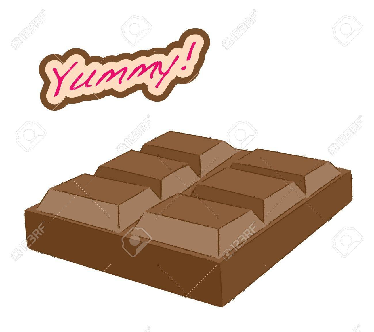 Dessert series -chocolate bar Stock Vector - 15983670