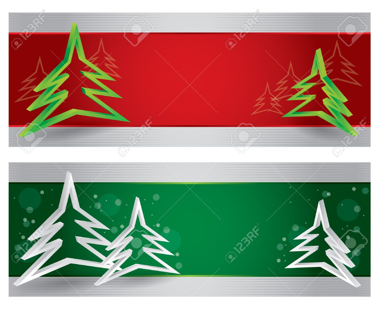 Merry Christmas Website Header And Banner With Abstract Background ...