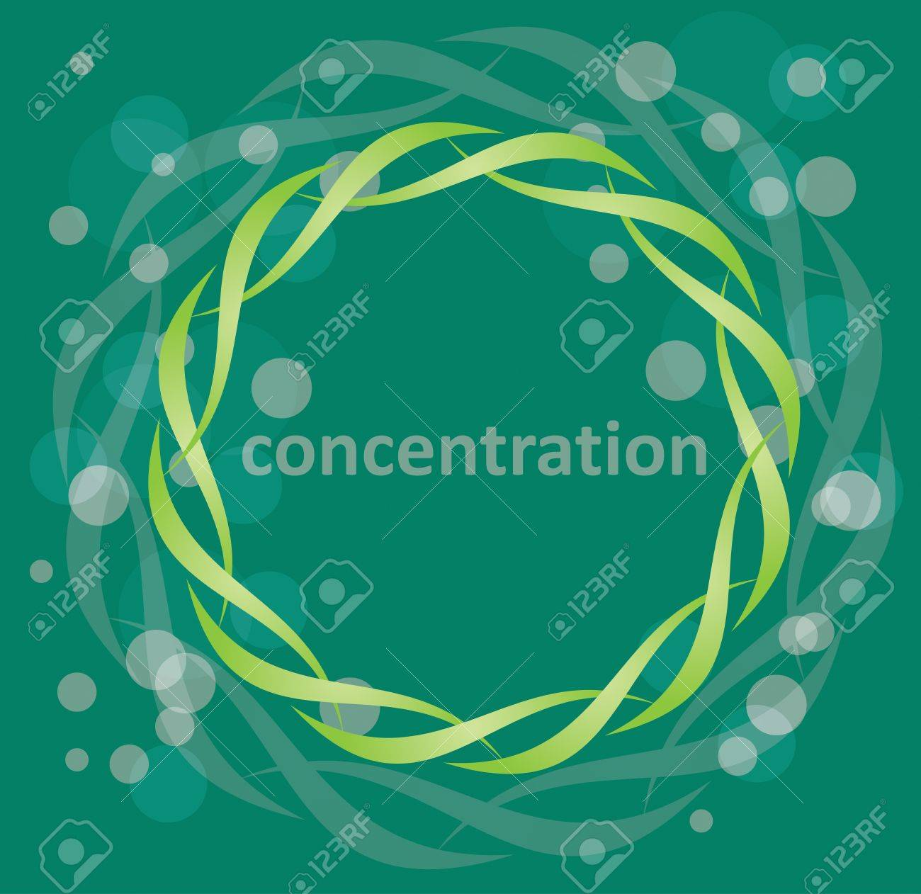 Concetration - Symbol of harmony Stock Vector - 17695222