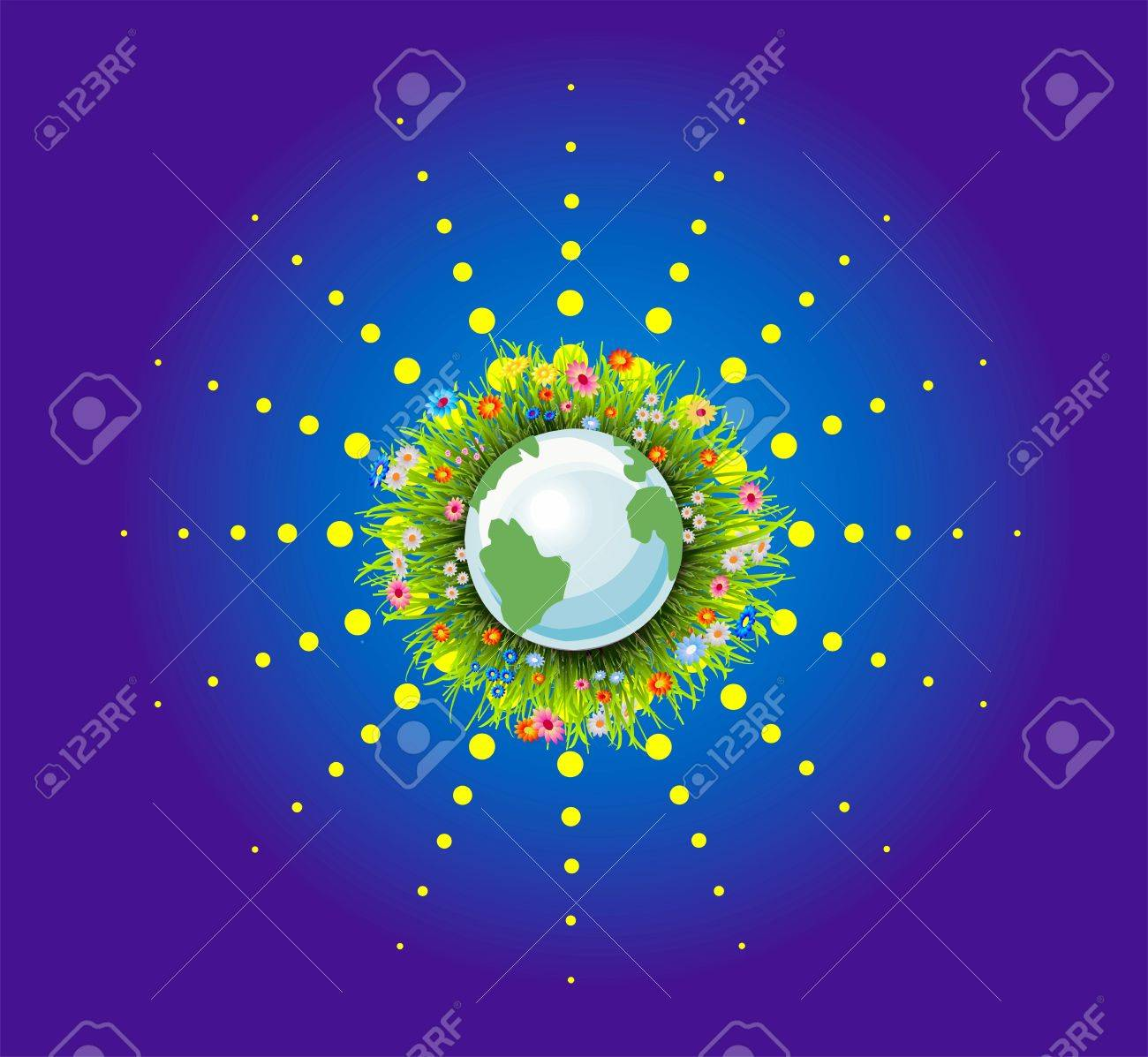 Earth day Stock Vector - 19049600