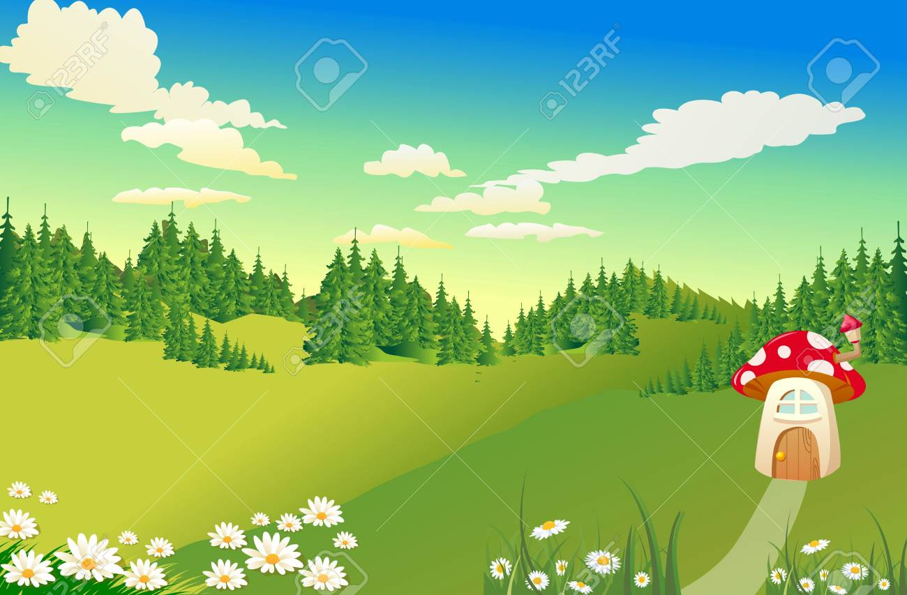 house in the forest Stock Vector - 20274420
