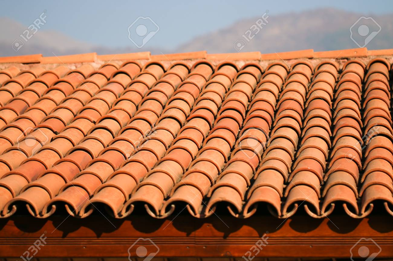 Red Clay Ridge Tiles