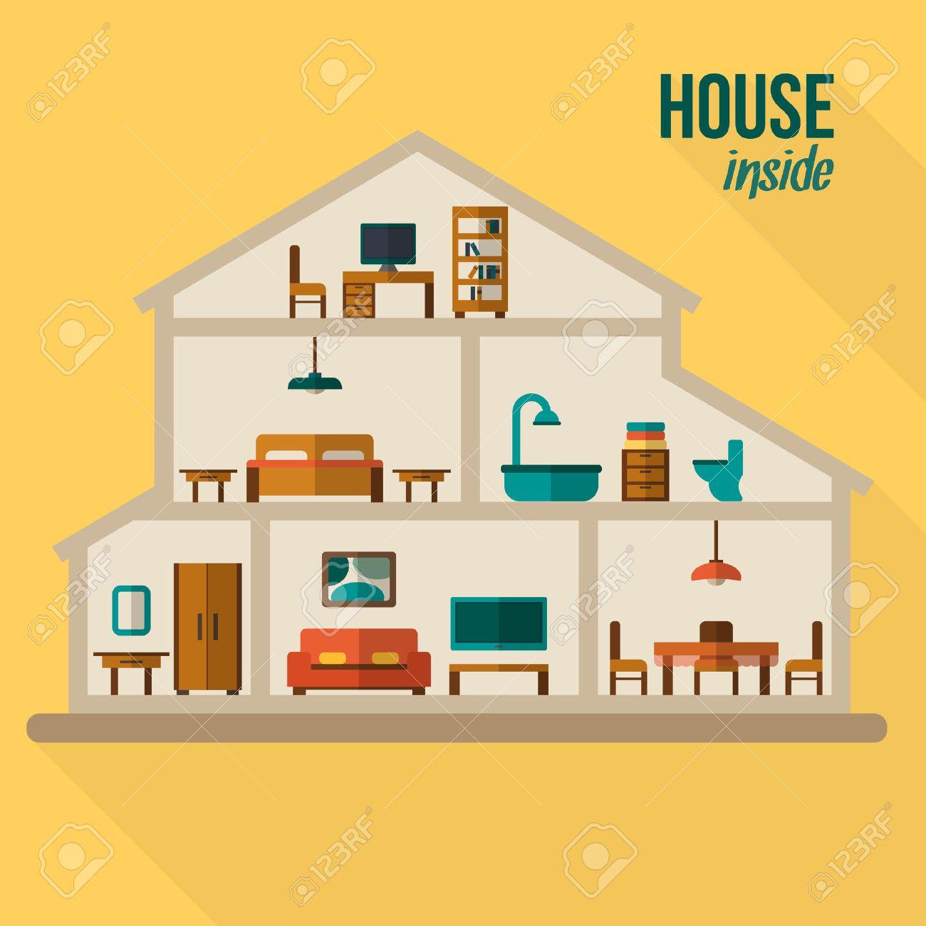Casas De Dibujos Free Colorear Diferentes Casas De Un Pueblo With