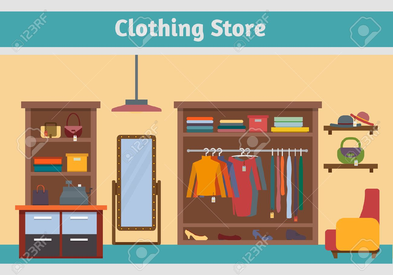 Clothing Boutique Clipart
