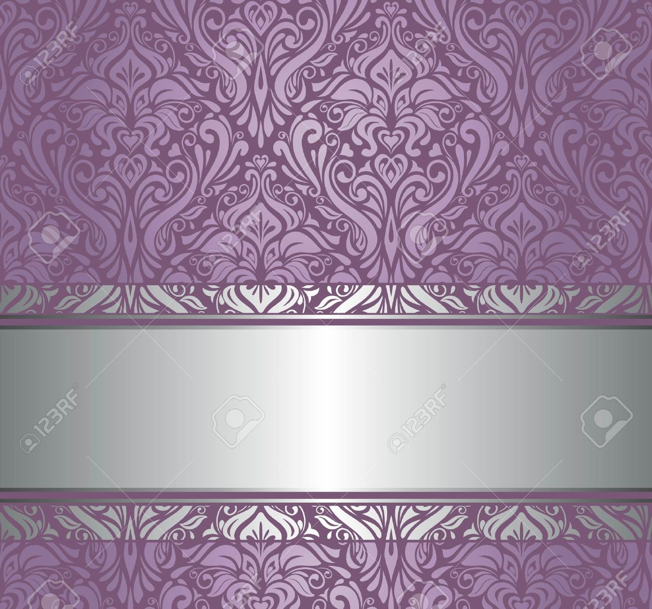 Top Violet And Silver Luxury Vintage Wallpaper Royalty Free Cliparts  SZ65