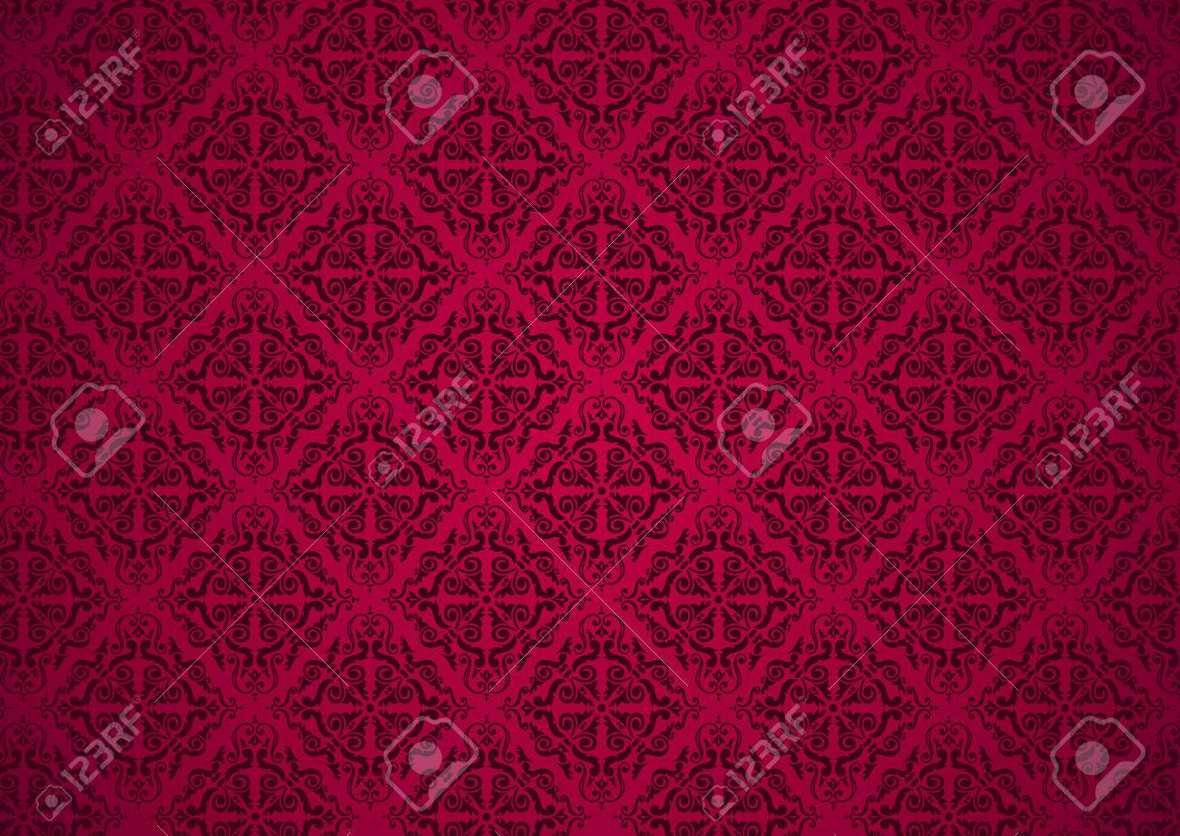 red holiday luxury invitation background Stock Vector - 26374165