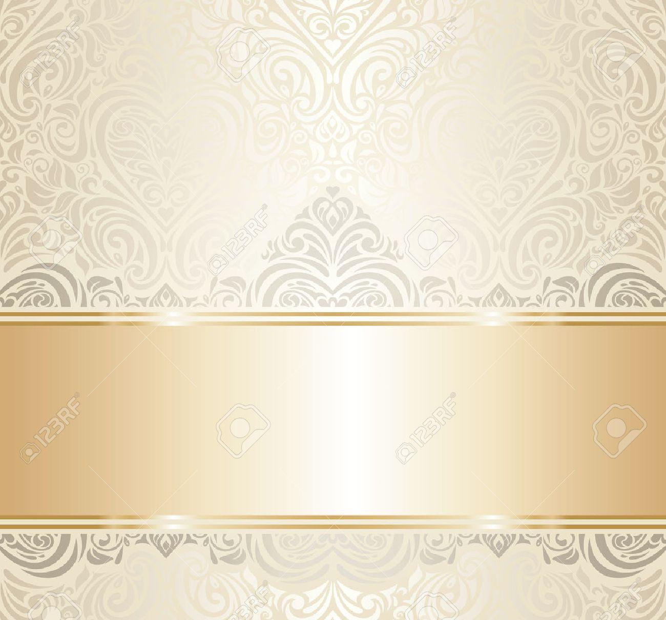 White gold vintage invitation luxury background design royalty free white gold vintage invitation luxury background design stock vector 27451507 stopboris Choice Image