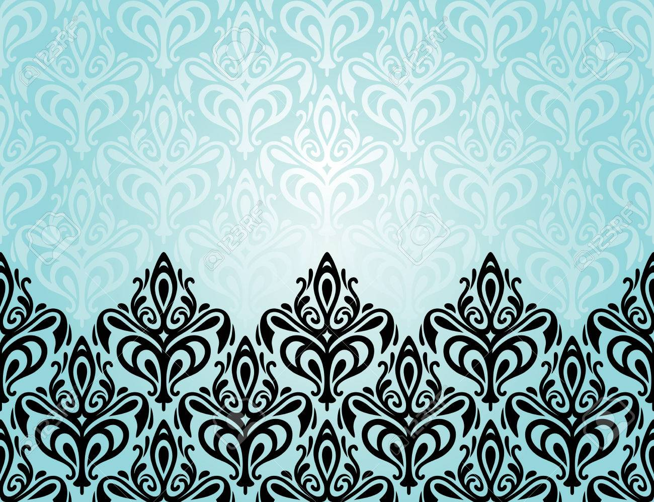 Turquoise Vector Wallpaper Cliparts Stock Vector And Royalty