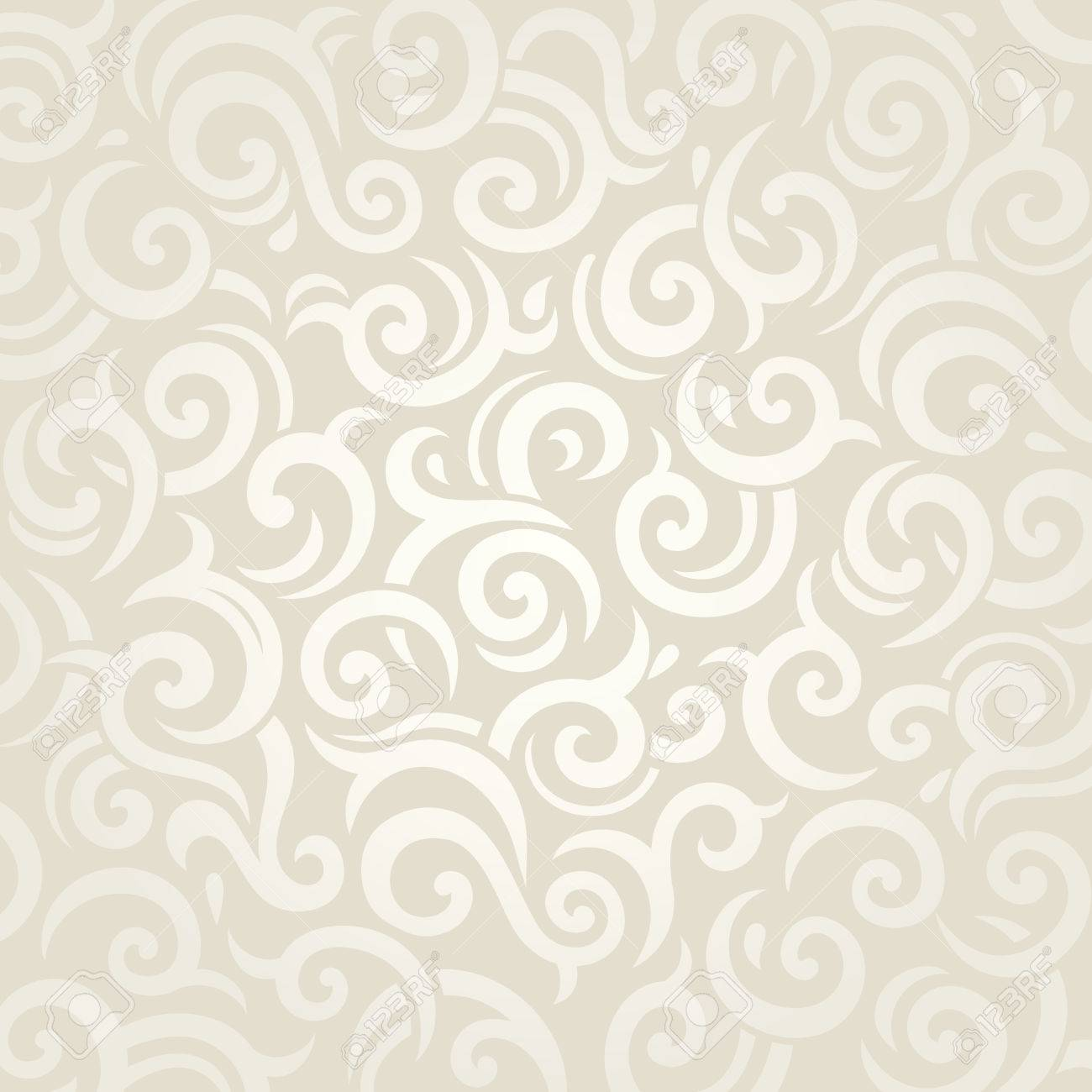 Wedding Vintage Retro Gentle Vector Wallpaper Design Royalty Free