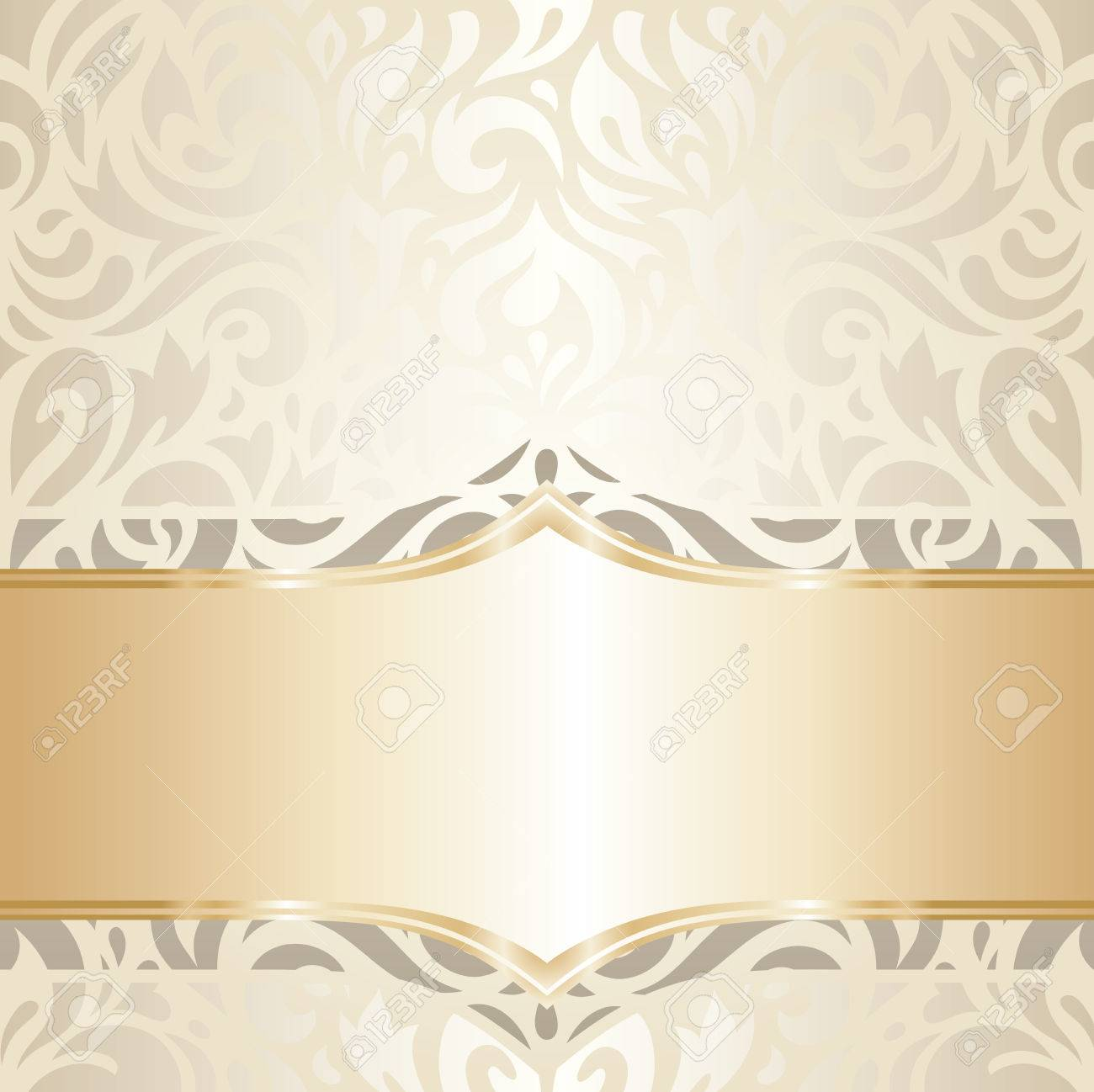 wedding vintage wallpaper decorative design white gold vector royalty free cliparts vectors and stock illustration image 53426581 wedding vintage wallpaper decorative design white gold vector